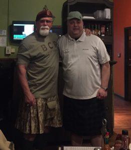BCR's Dusty Baxley (left)   and VMSI's Ken Konkol