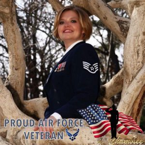 VMSI employee and Air Force veteran Brittney Perry