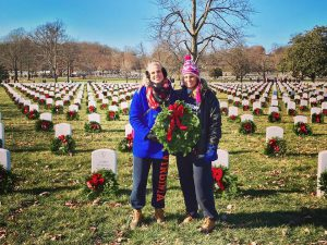 Kylene Henson, VMSI's Director of Recruiting (R), with her sister Kendall at WAA.