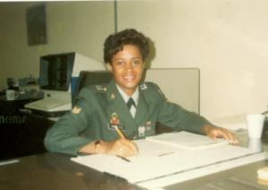 Elaine Smokes, formerUS Army MP