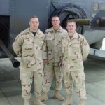 VMSI COO, Ken Konkol (far left),  with Air Force comrades during Operation Enduring Freedom.