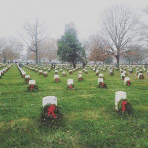 Arlington National Cemetery;  photo cred Emily Wilson