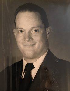 Rick Burgard, while serving  in the US Air Force.