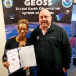 Danita Douglas receives Award of  Excellence from VMSI COO, Ken Konkol