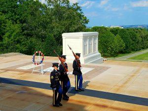 Memorial Day Presentation at the  Tomb of the Unknown Soldier  at Arlington National Cemetery  (Photo Credit: Ken Konkol)