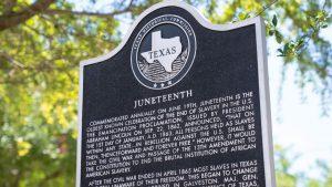 Juneteenth-historical-marker