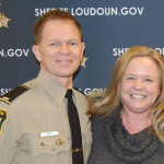 LCSD First Lieutenant RJ Earley  with his wife, VMSI's Heather Earley