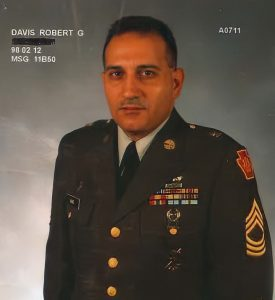 Rob Davis while serving in the U.S. Army